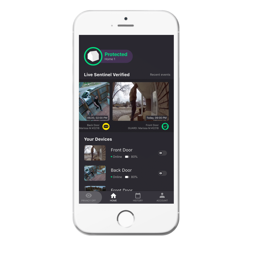 image show app home page