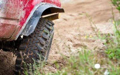 Suspected Burglar's Getaway Trucks Gets Stuck in Manure